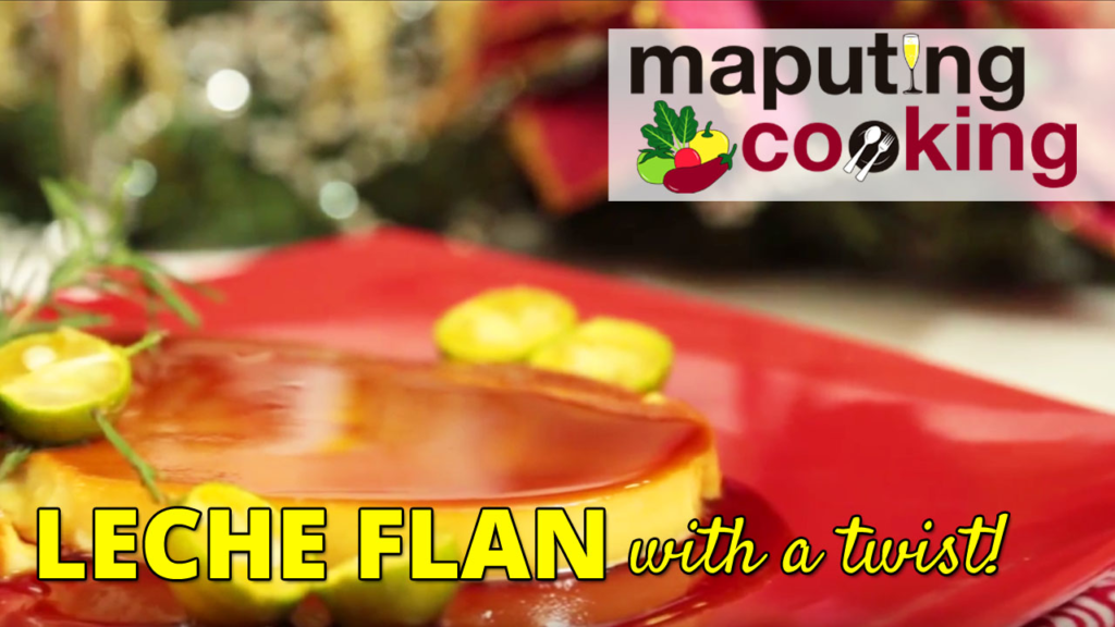 Leche Flan for the Holidays