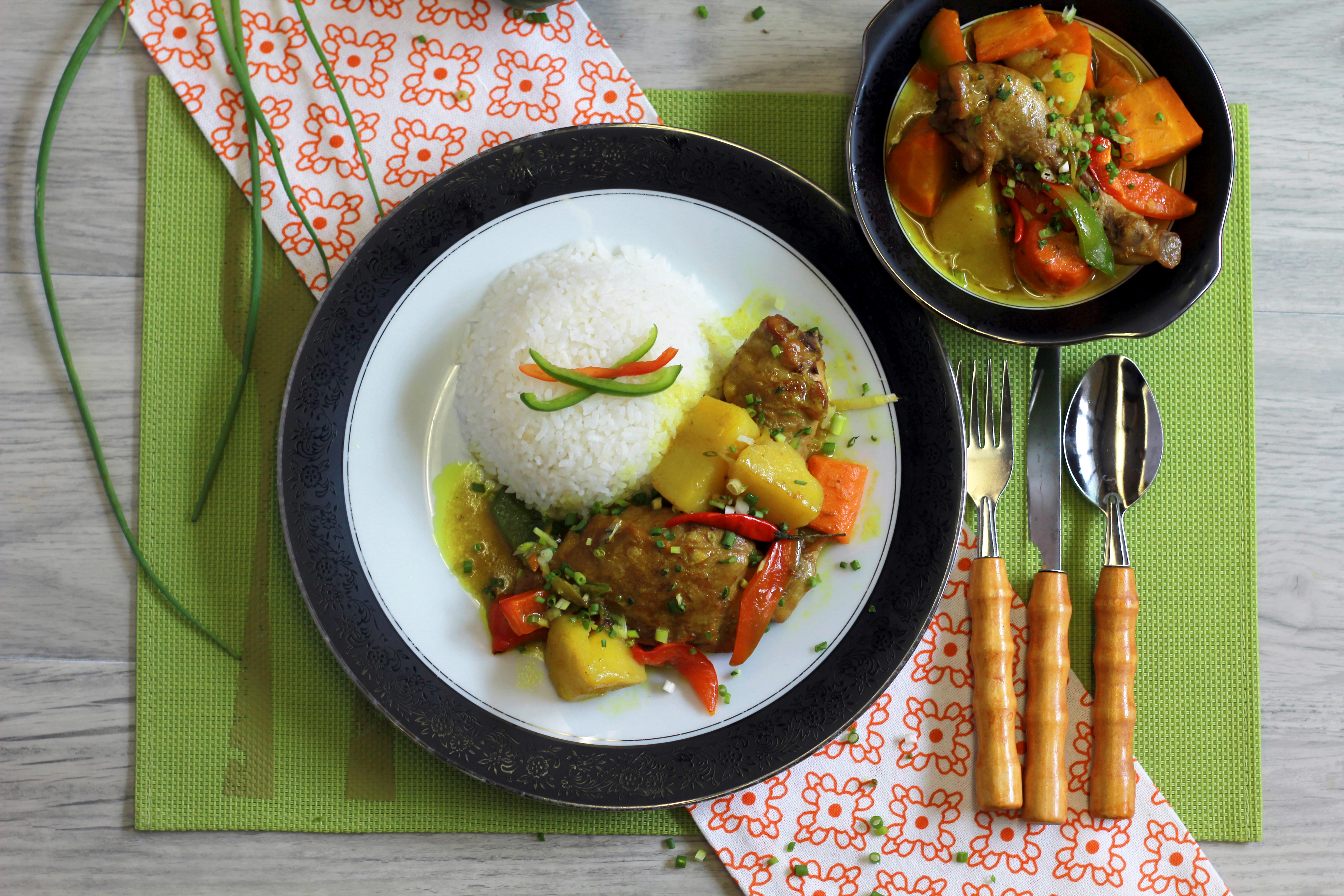 Filipino style chicken curry recipe maputing cooking forumfinder Images